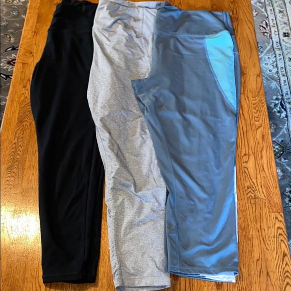 XL 3 leggings brisas & danskin